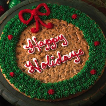 Holiday Cookie Cake