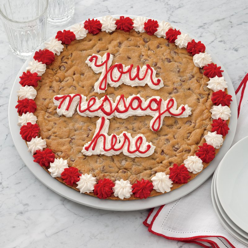 Round Cookie Cake