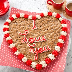 VDAY Cookie Cake